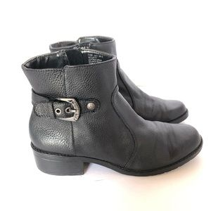 Anne Klein Lefty Ankle Boots Black Size 7.5